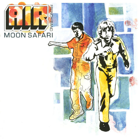 AIR : MOON SAFARI (1998) LP 2015 REISSUE 180 GRAM