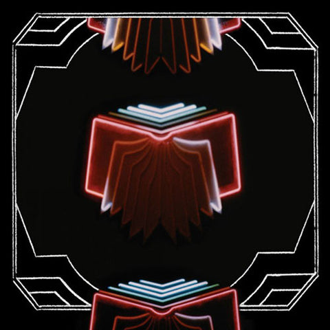 ARCADE FIRE : NEON BIBLE (2007) 2LP 2017 REISSUE ETCHED VINYL GATEFOLD SLEEVE