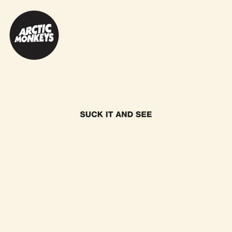 ARCTIC MONKEYS : SUCK IT AND SEE (2011) CD / LP GATEFOLD SLEEVE 180 GRAM VINYL