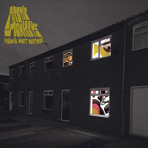 ARCTIC MONKEYS : FAVOURITE WORST NIGHTMARE (2007) CD / LP GATEFOLD SLEEVE 180 GRAM VINYL