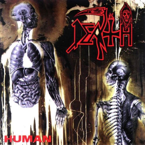 DEATH: HUMAN (1991) 2020 LIMITED SPLATTER VINYL LP