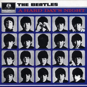 BEATLES, THE : A HARD DAY'S NIGHT (1964) CD / LP 2018 REMASTERED STEREO REISSUE 180 GRAM VINYL