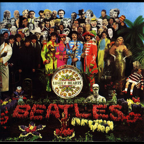 BEATLES, THE : SGT. PEPPER'S LONELY HEARTS CLUB BAND (ANNIVERSARY EDITION) (1967) CD / 2CD / LP 2017 REMASTERED GILES MARTIN STEREO MIX GATEFOLD SLEEVE 180 GRAM VINYL