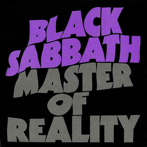 BLACK SABBATH: MASTER OF REALITY (1971) 2015 REISSUE LP