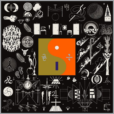 BON IVER : 22, A MILLION (2016) CD / LP GATEFOLD SLEEVE