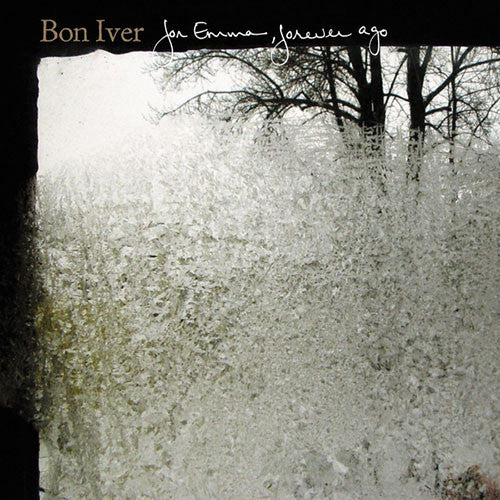 BON IVER : FOR EMMA, FOREVER AGO (2008) CD / LP