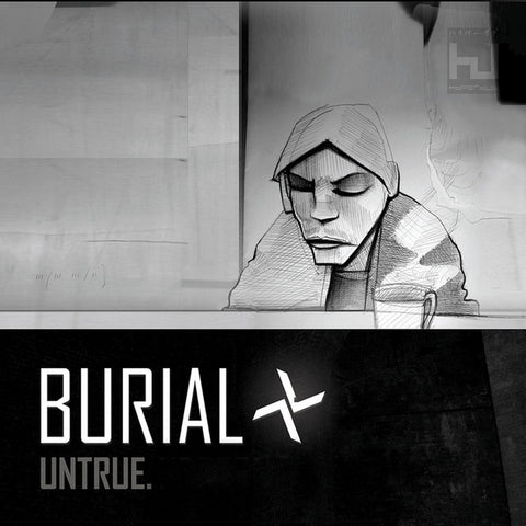 BURIAL : UNTRUE (2007) LP & CD