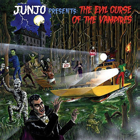 "HENRY ""JUNJO"" LAWES : THE EVIL CURSE OF THE VAMPIRES (1981) 2LP"
