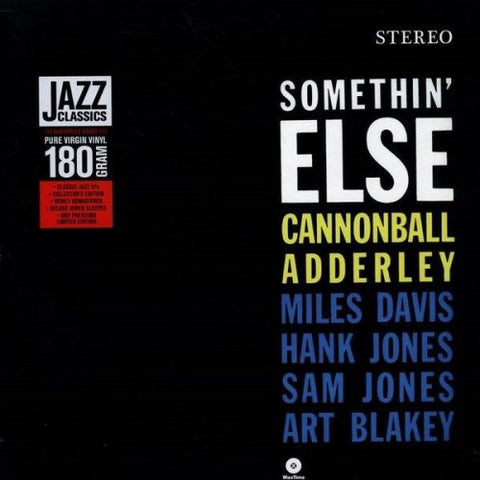 ADDERLEY, CANNONBALL: SOMETHIN' ELSE (1958) 2011 REISSUE
