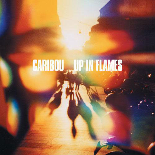 CARIBOU : UP IN FLAMES (2006) LP 2013 REPRESS