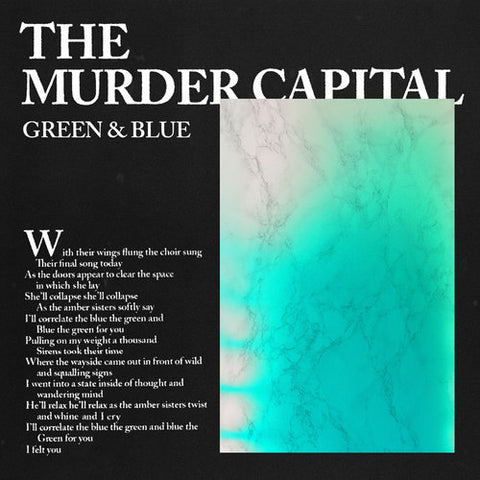 MURDER CAPITAL, THE: GREEN & BLUE 12""