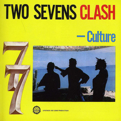 CULTURE : TWO SEVENS CLASH - JOE GIBBS PRODUCTION (1977) LP 2011 REISSUE