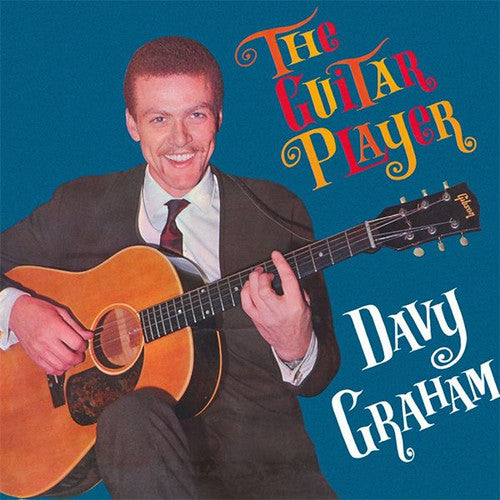 GRAHAM, DAVY: THE GUITAR PLAYER (1963) LP