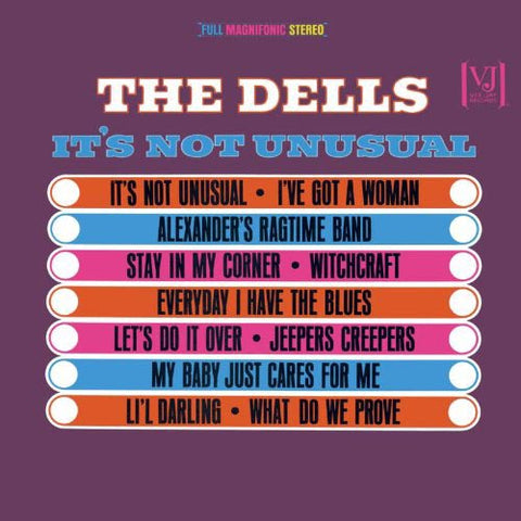 DELLS, THE: IT'S NOT UNUSUAL LP