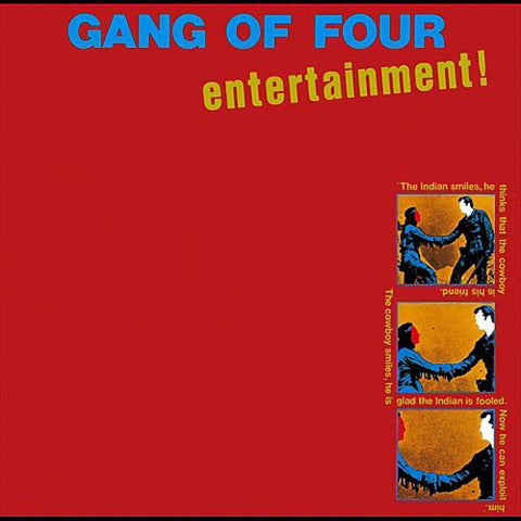 GANG OF FOUR : ENTERTAINMENT ! (1979) LP