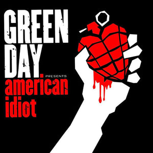 GREEN DAY : AMERICAN IDIOT (2004) 2LP 2019 REISSUE GAREFOLD SLEEVE