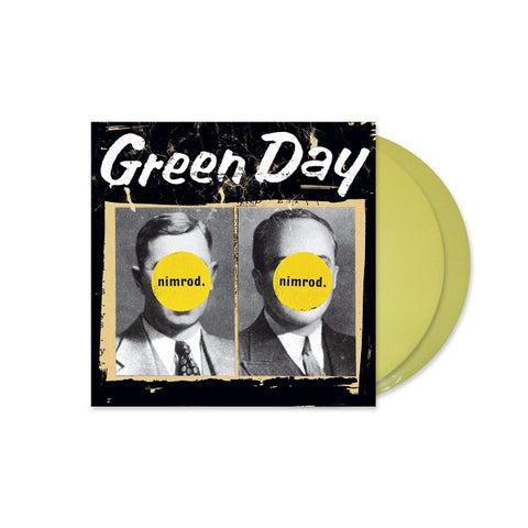 GREEN DAY: NIMROD (1997) 2020 REPRESS 2LP YELLOW VINYL