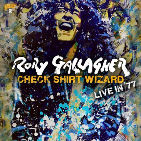 GALLAGHER, RORY: CHECK SHIRT WIZARD LIVE IN '77