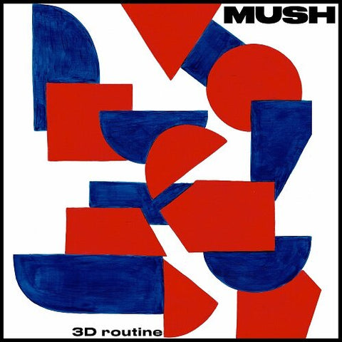 MUSH : 3D ROUTINE (2020) CD / LP LIMITED ORANGE VINYL
