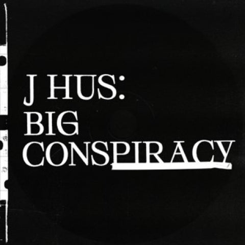 J HUS: BIG CONSPIRACY RSD AUGUST 2020 2LP BLACK / WHITE VINYL