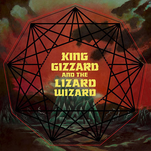 KING GIZZARD AND THE LIZARD WIZARD : NONAGON INFINITY (2016) CD / LP GATEFOLD SLEEVE