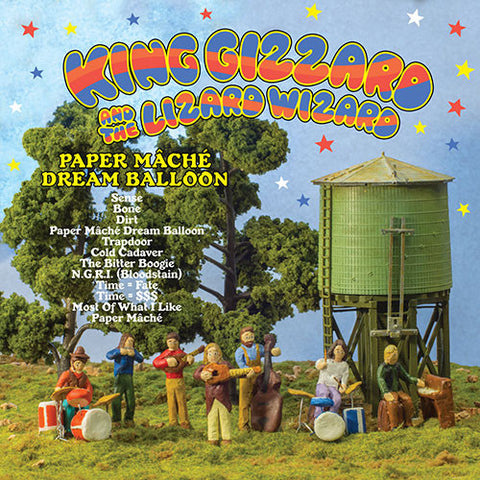 KING GIZZARD AND THE LIZARD WIZARD : PAPER MACHÉ DREAM BALLOON (2015) LP