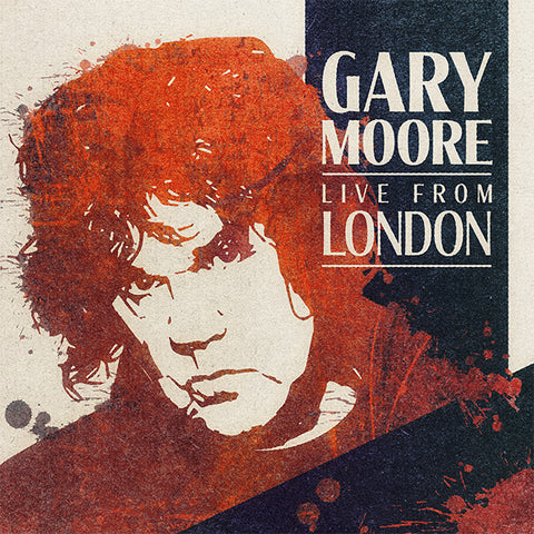 MOORE, GARY: LIVE FROM LONDON (2020) 2LP ORANGE VINYL