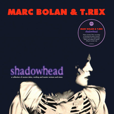BOLAN, MARC & T. REX: SHADOWHEAD PURPLE VINYL RSD AUGUST 2020 LP