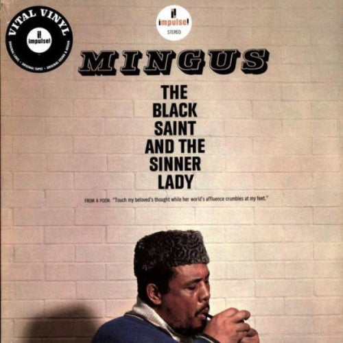MINGUS, CHARLES : THE BLACK SAINT AND THE SINNER LADY (1963) 2019 REISSUE STEREO