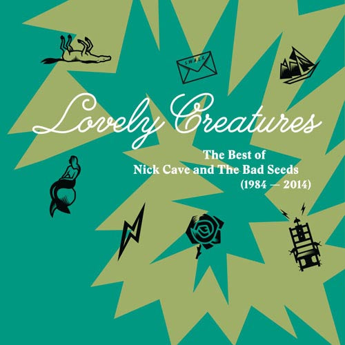CAVE, NICK & THE BAD SEEDS : LOVELY CREATURES - THE BEST OF (2016) CD / 3LP DELUXE FOLD OUT SLEEVE