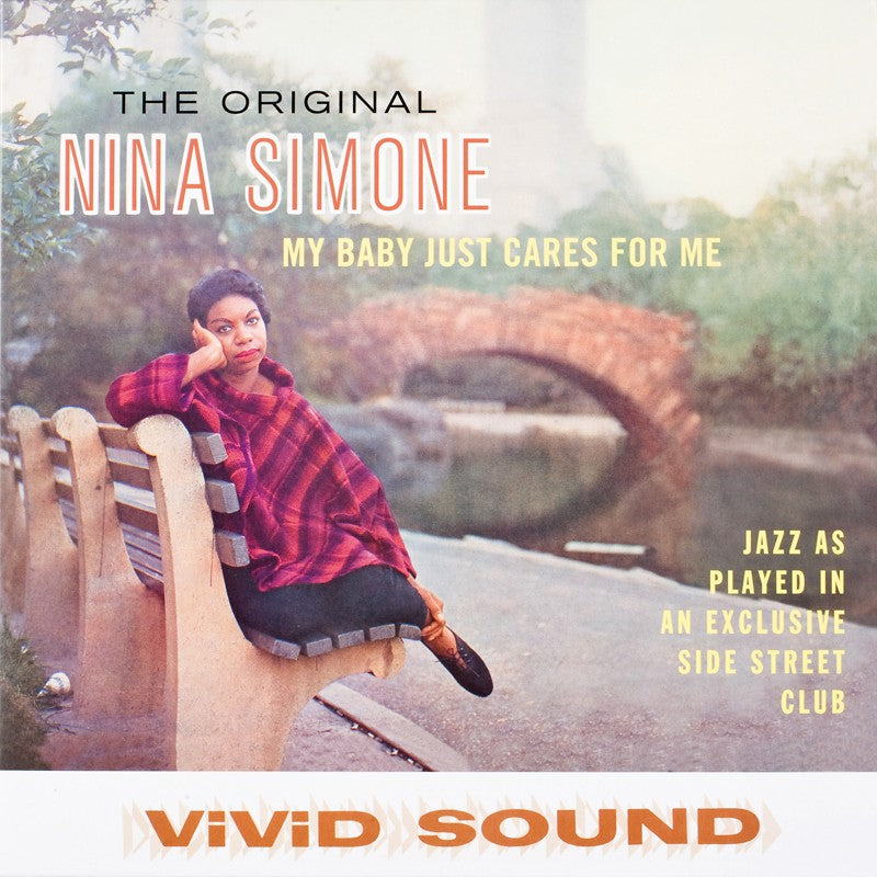 SIMONE, NINA: MY BABY JUST CARES FOR  / LITTLE GIRL BLUE (1959) LP 2012 REISSUE 180 GRAM VINYL