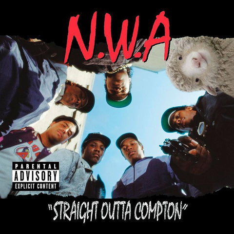 N.W.A STRAIGH OUTTA COMPTON (WITH BONUS TRACKS) USED CD