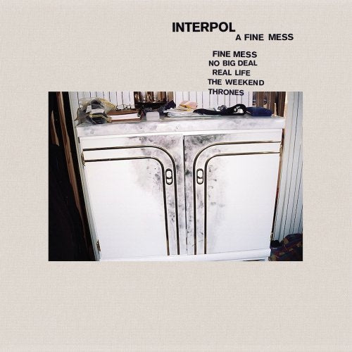 INTERPOL : A FINE MESS EP (2019) CD / LP