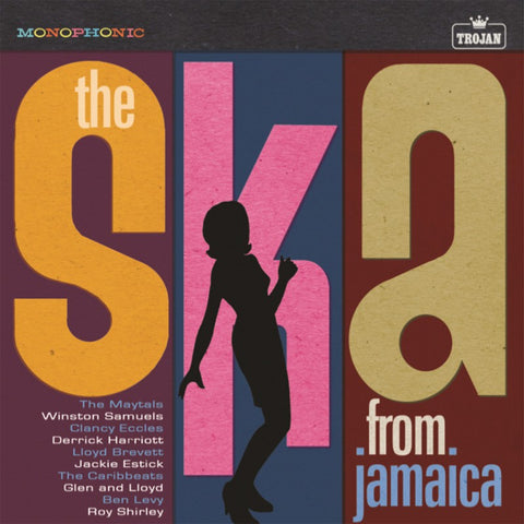 V/A: THE SKA FROM JAMAICA TROJAN RECORDS COMPILATION RSD AUGUST 2020 LP