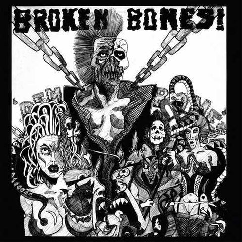 BROKEN BONES: DEM BONES LP BLACK, WHITE VINYL AUGUST RSD 2020