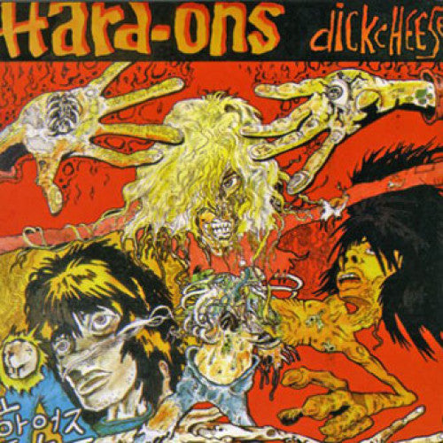 HARD-ONS : DICKCHEESE (1988) LP 2019 REISSUE
