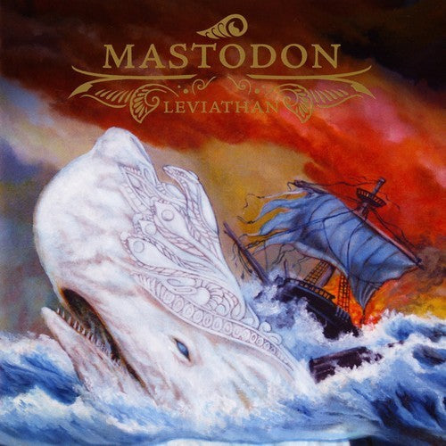 MASTODON : LEVIATHAN (2004) LP 2018 REPRESS ON ROYAL BLUE WITH WHITE VINYL