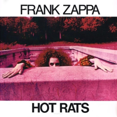 ZAPPA, FRANK : HOT RATS (1969) LP 2008 REPRESS GATEFOLD SLEEVE
