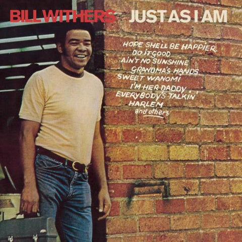 WITHERS, BILL: JUST AS I AM (1971) LP 2012 REISSUE