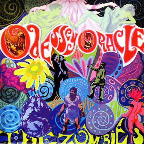 ZOMBIES, THE: ODESSEY AND ORACLE (1968) LP 1997 REISSUE