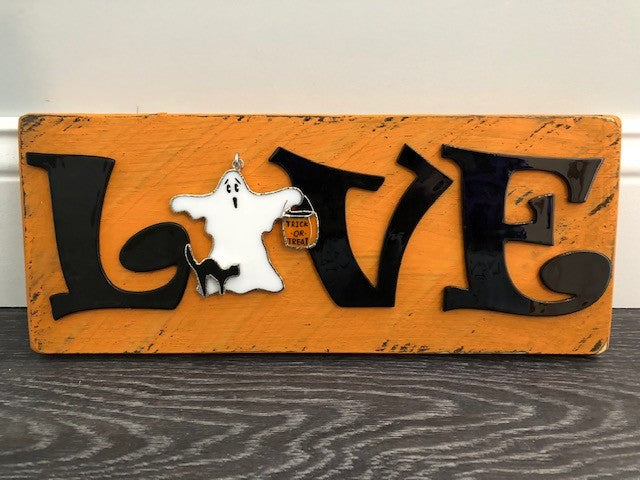 Accessories- Handmade Sign (Orange) *Switchable Not Included*