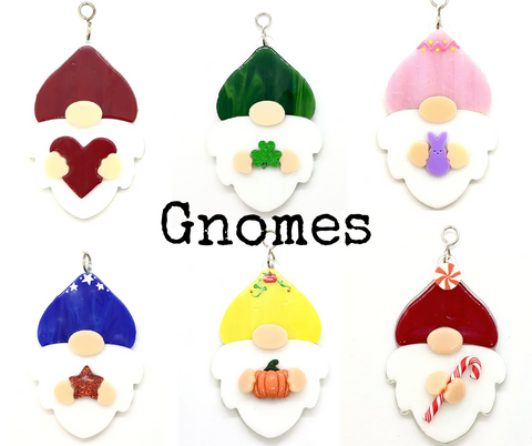Glass Cover- Gnomes (Seasonal)