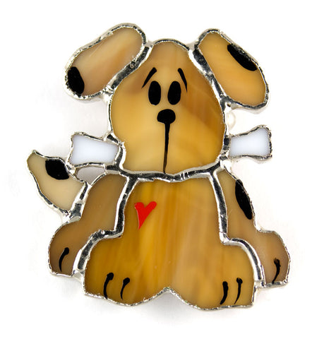 Jewelry- Dog with Bone Pin