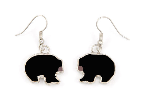 Jewelry- Black Bear Earrings