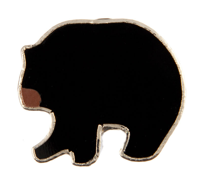 Jewelry- Black Bear Pin