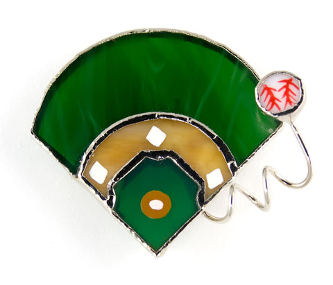 Jewelry- Field, Baseball Pin