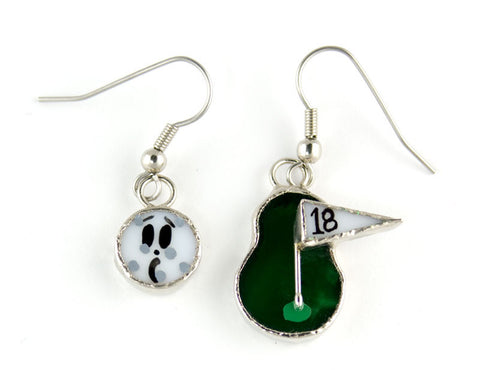 Jewelry- Golf Earrings