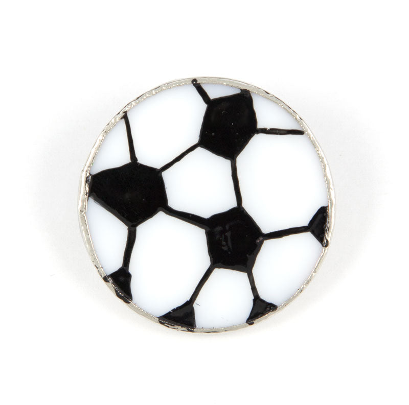 Jewelry- Soccer Ball Pin