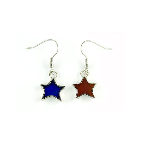 Jewelry- Patriotic Star Earrings