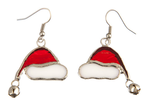 Jewelry- 'Santa Hat Earrings'